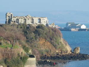Sandsfoot Castle, Weymouth, where part of the book is set © Andrew Knowles