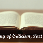 Anatomy of Literary Criticism and Romance Novels