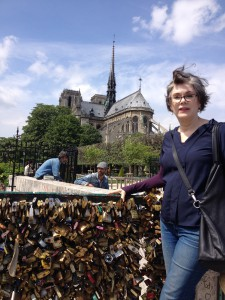 Bridge of Love Locks Paris