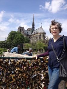 Bridge of Love Locks Paris