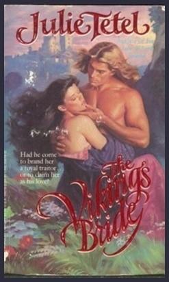 Julie Tetel Andresen The Vikings Bride Medieval Romance Novel
