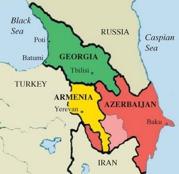 azerbaijan I map