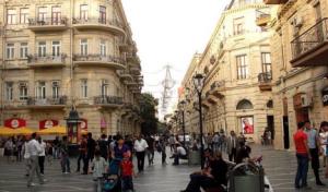 azerbaijan I parisian style buildings