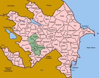 azerbaijan II Map