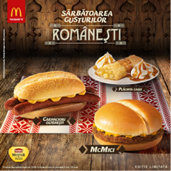 Romania Round up McDonalds