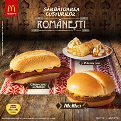 Romania Round up McDonalds