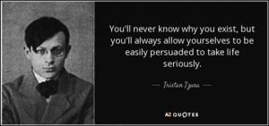 Famous Romanian Tristan Tzara
