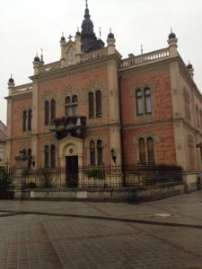 Bishop's Palace – right in the middle of the pedestrian zone – very nice