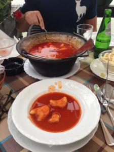 Serbia Carda Fish Stew
