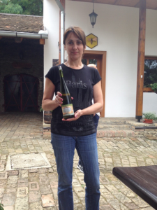 Serbia Hostess Serving Riesling