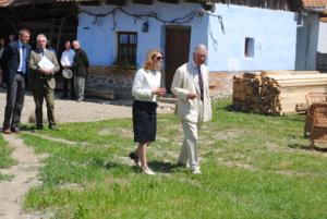 Prince Charles at Viscri