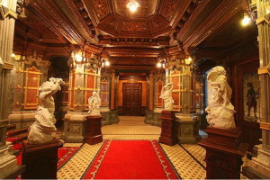 The entry