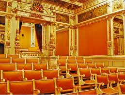 ter, where movies can be shown, with 60 seats and a royal box