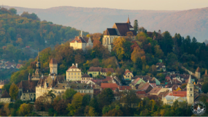 transylvania 2 Sighisoara mountain view