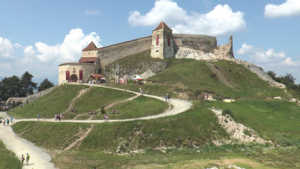 transylvania 2 fortified castle ruin Rasnov
