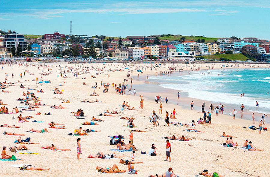 Bondi Beach, Sydney - Bikini vs Burkini Ban Debate