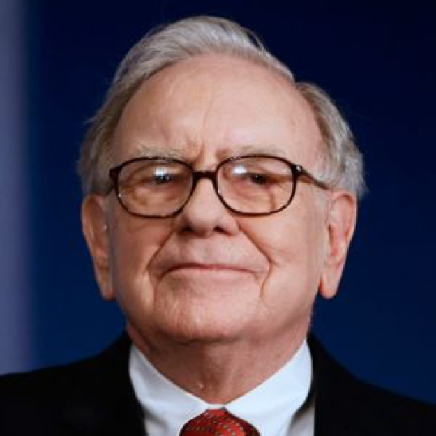 Warren Buffet, investor – worth $65 billion
