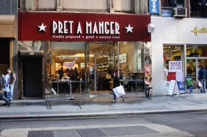 Pret a Manger Chain London