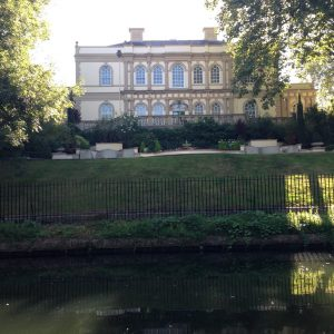 Regent Canal Mansions in London