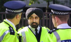 Sikh Policeman in London