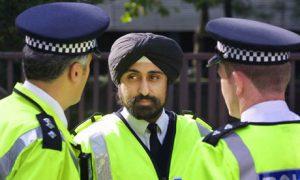 Sikh Policeman in London