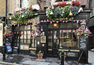 Two Chairmen London Pub Near Scotland Yard and Parliament