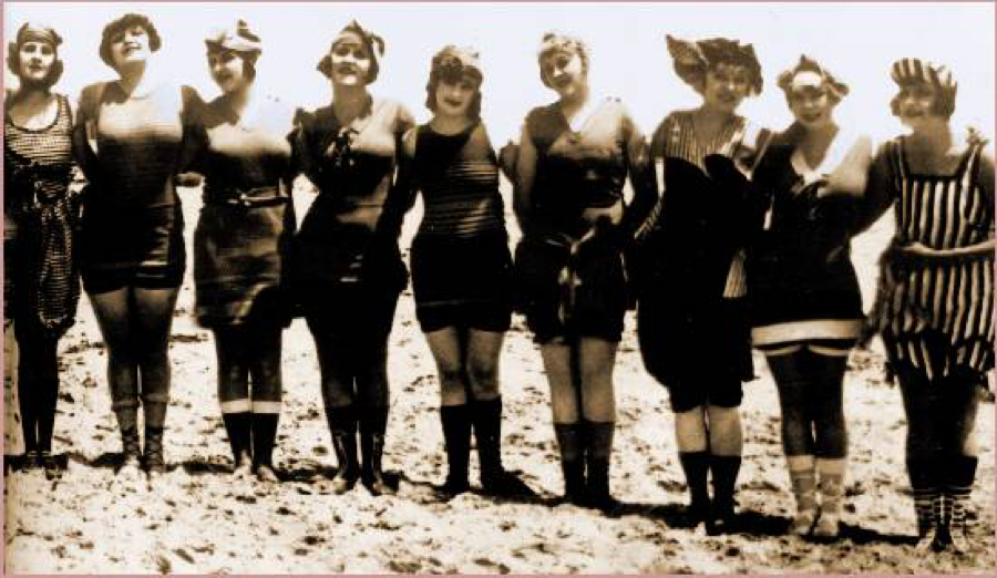 Swimwear of the 1920s - Burkini Ban Debate