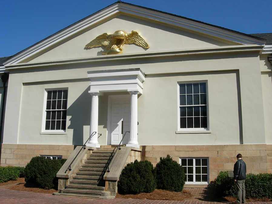 Charlotte branch of the U.S. Mint now a museum.