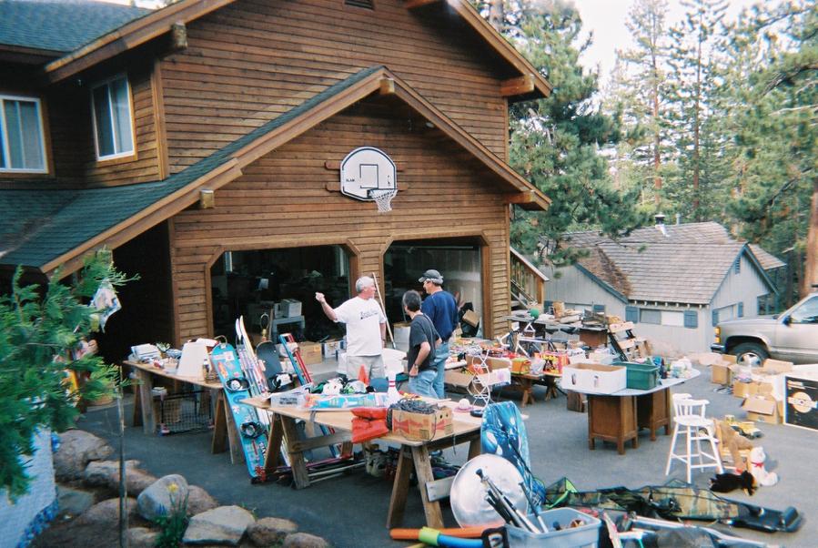 benjamin-franklin-garage-sale