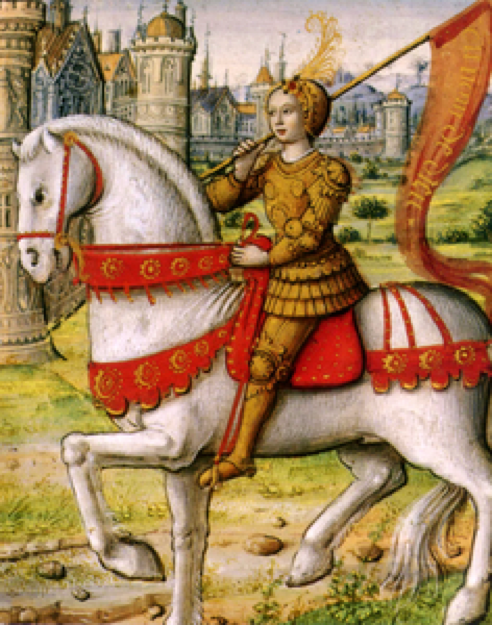 Joan of Arc was a charismatic