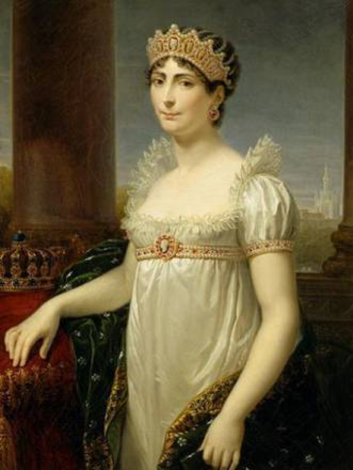 Josephine blew hot and cold and Napoleon fell madly in love with her