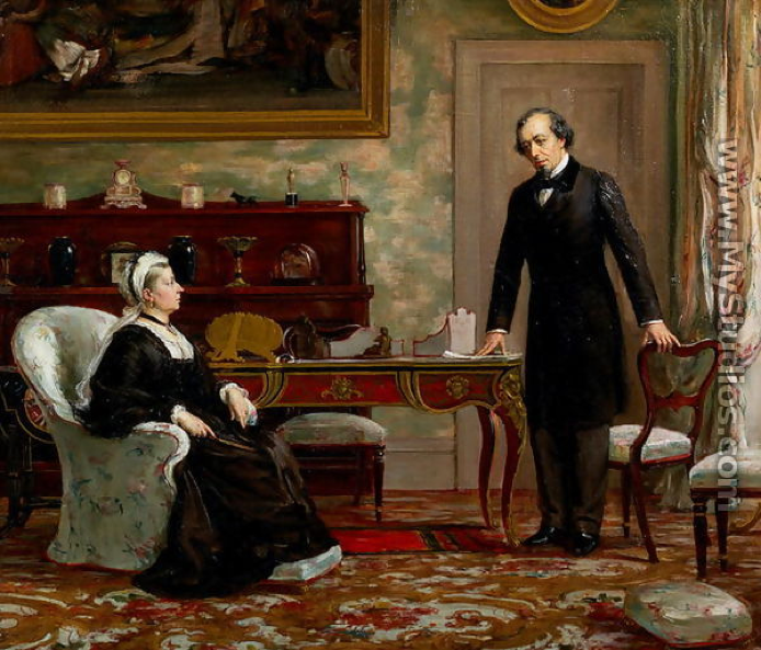 Prime Minister Benjamin Disraeli completely charmed Queen Victoria by making her feel desirable as a woman and gifted as a monarch