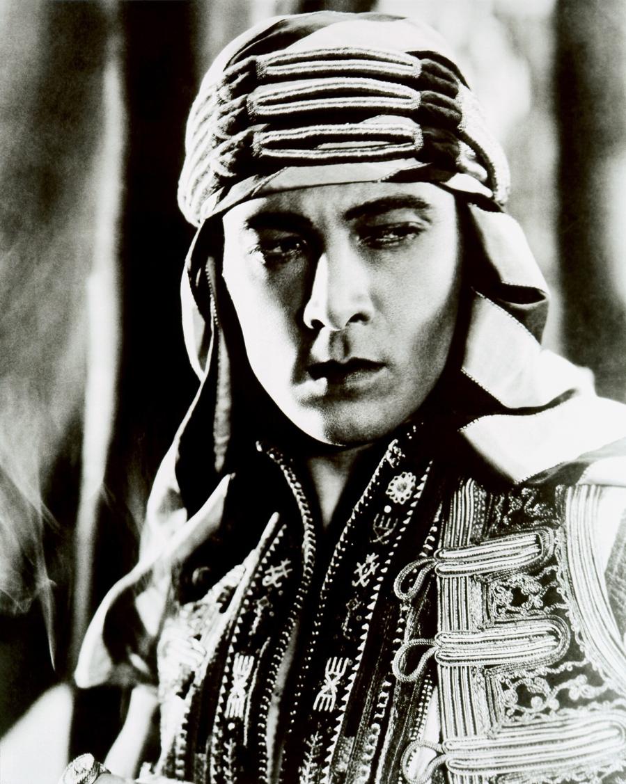 Valentino as the Sheik