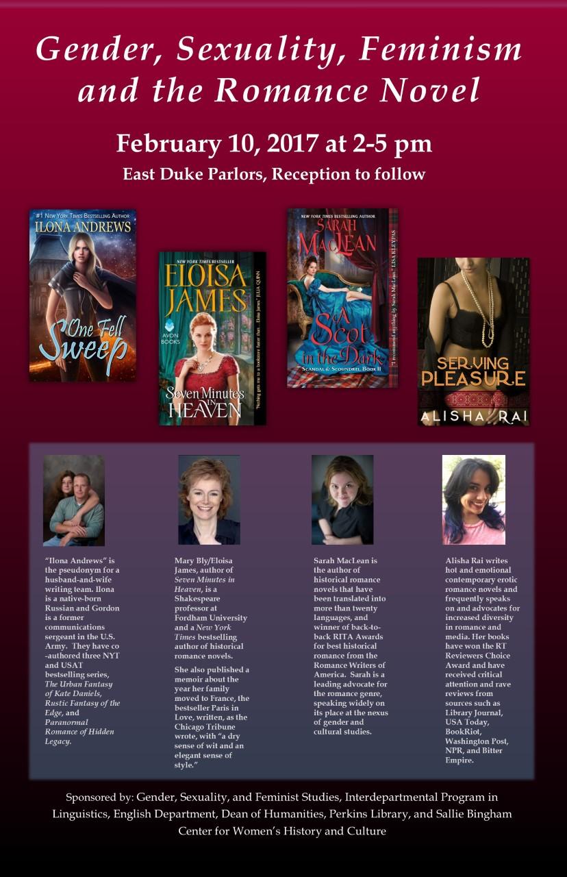 Romance Novel Symposium Duke University