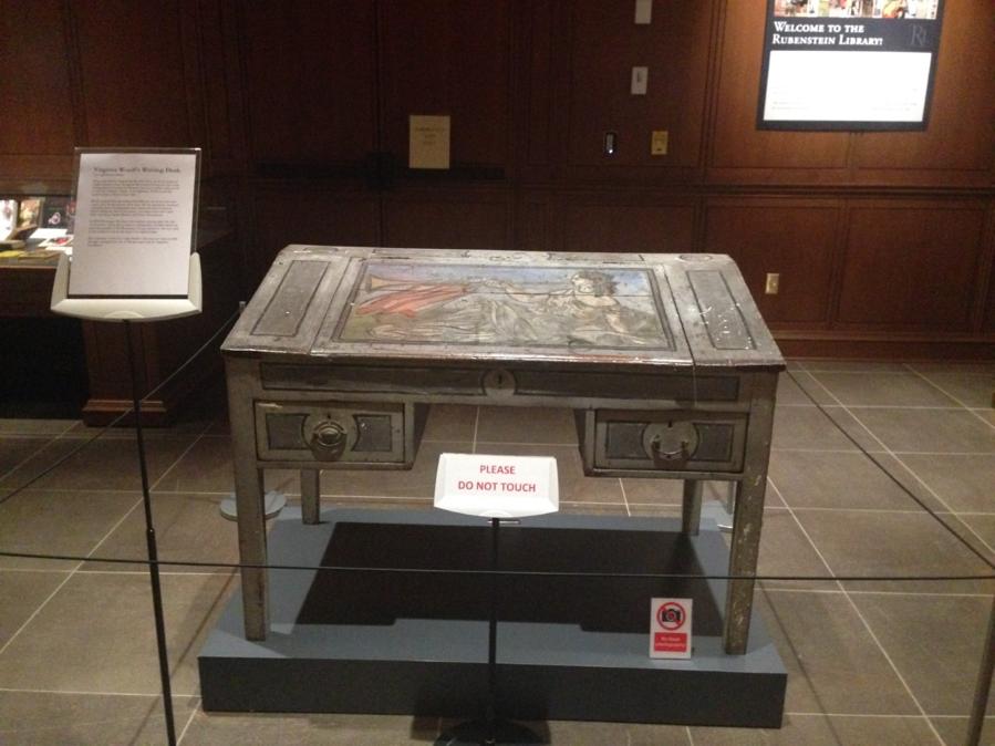Virginia Woolfe's desk