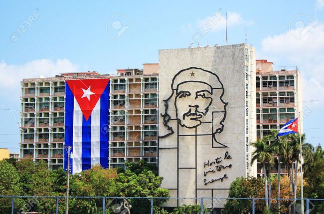 on the town in Havana, Cuba