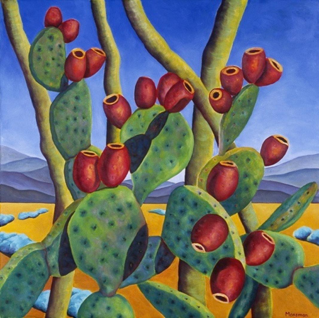 Nancy Monsman Prickly Pear and Palo Verde