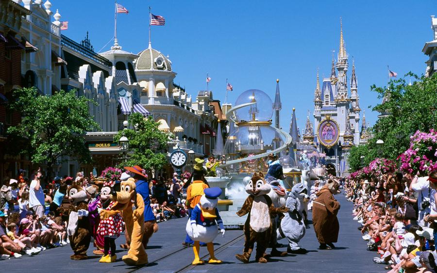 Main Street, Magic Kingdom, Disney World