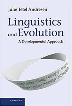 linguistics and evolution a developmental approach