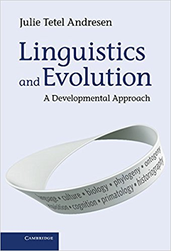 Linguistics and Evolution: A Developmental Approach