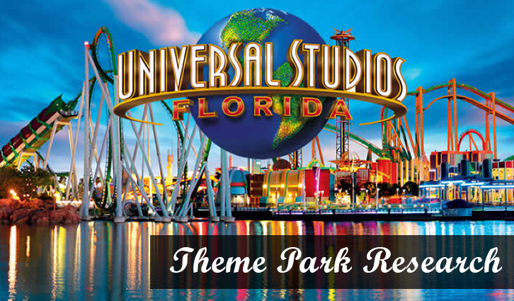 Universal Orlando Theme Park Research