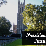 Duke University presidential inauguration