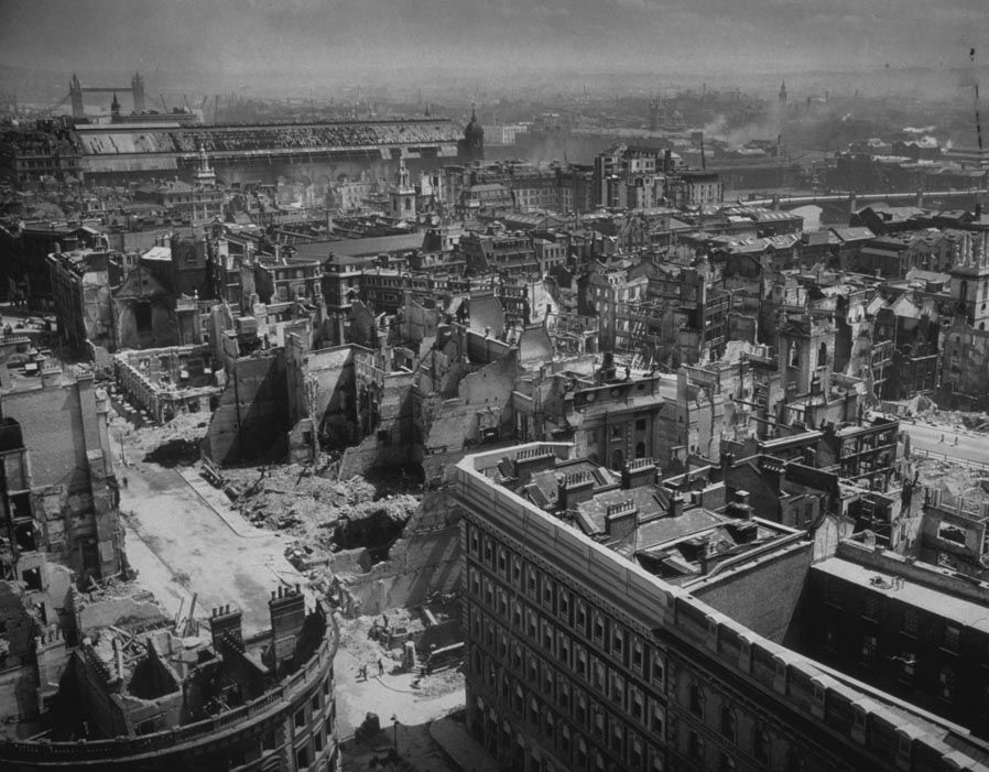 Post-World-War-Two London