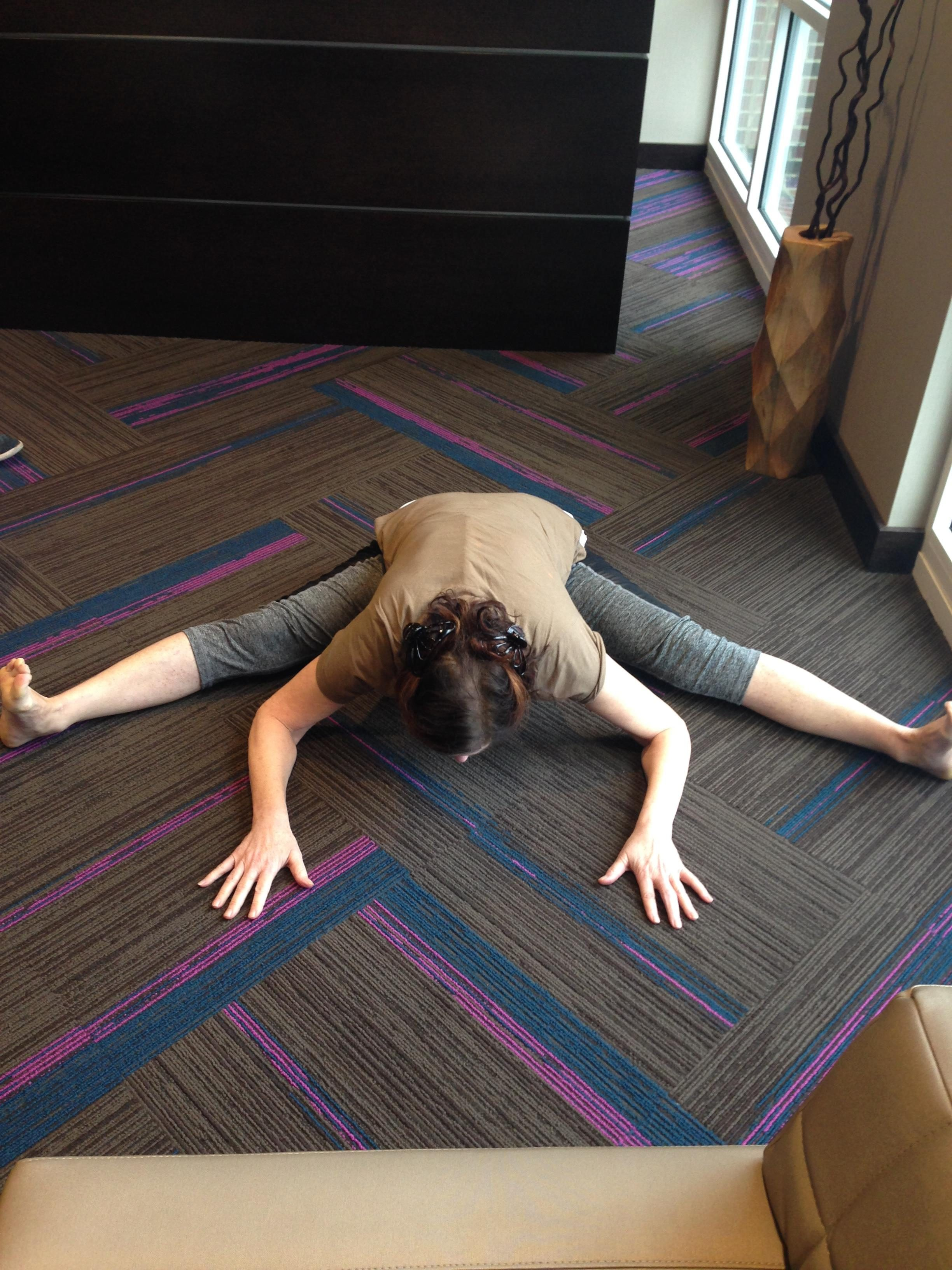 a youthful mind and body yoga pose