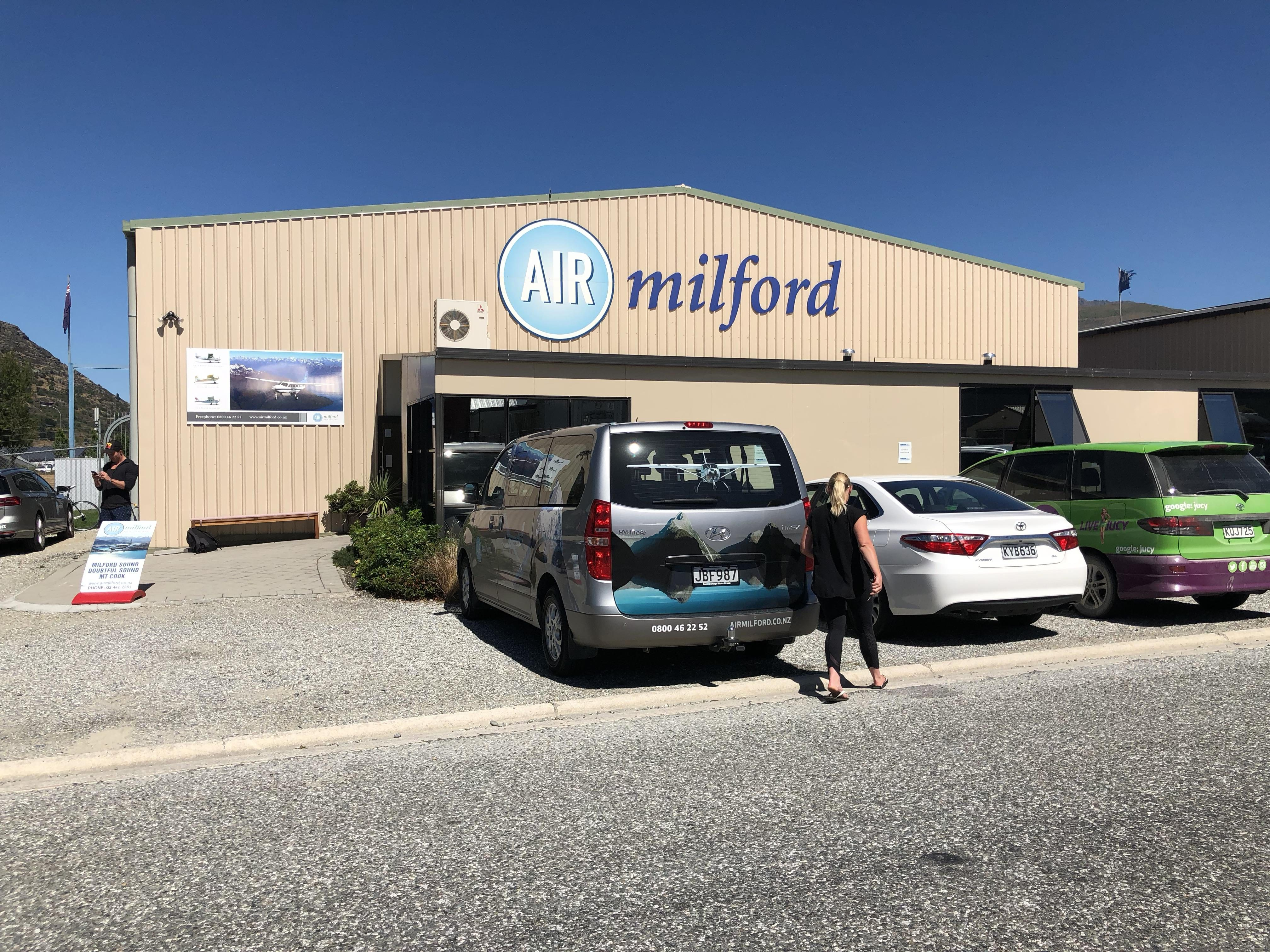 Air Milford offices