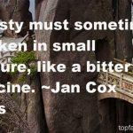 Jan Cox Speas