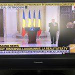Romanian TV news
