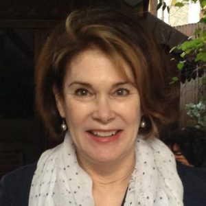 Headshot of Julie Tetel Andresen, Romance Novel Blog Author.