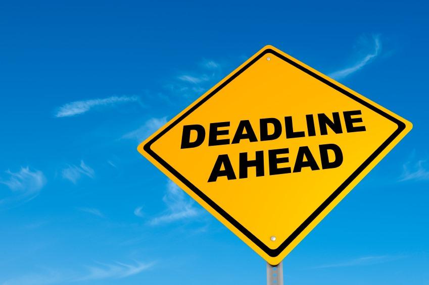 realistic deadlines