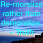 remoralize